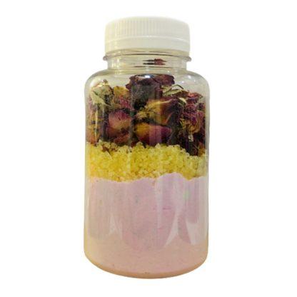 Mix de baño sales, petalos y bombas de baño la casita de coco 2