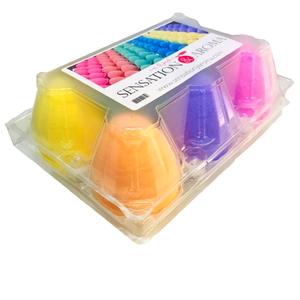 Pack bombas de baños huevos tropicales
