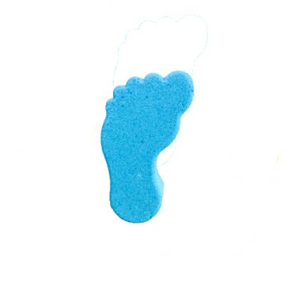 bomba de baño pies azul la casita de coco
