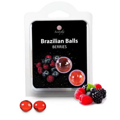 brazilian balls Frutos rojos bolas brasileñas lubricante monodosis secretplay erotico la casita de coco