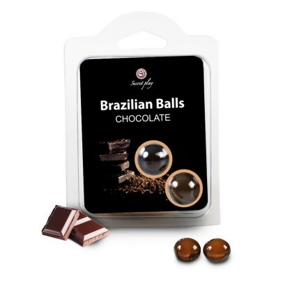 brazilian balls chocolate bolas brasileñas lubricante monodosis secretplay erotico la casita de coco