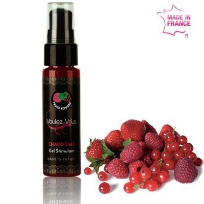 gel estimulante frutos rojos 30ml VOULEZ-VOUS erotico la casita de coco