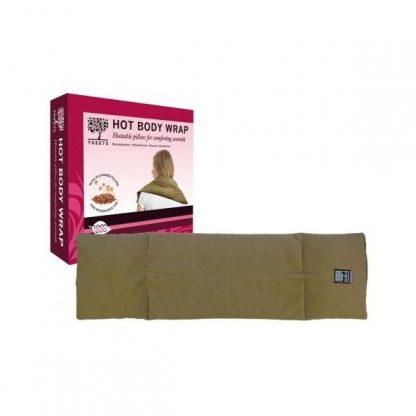 Almohada t�rmica multifuncional de Semillas de lino