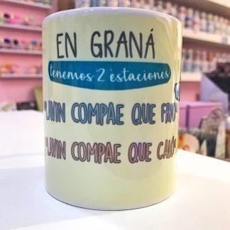 """Taza """"Estaciones granainas"""""""