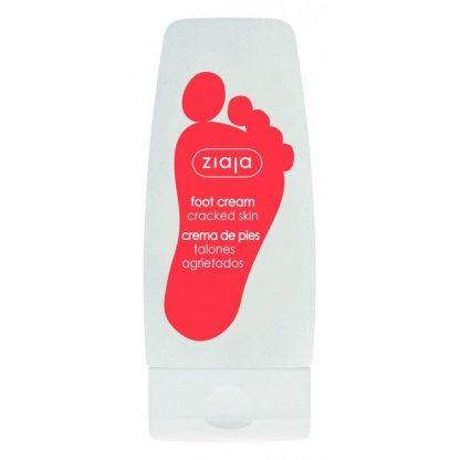 Crema de pies para talones agrietados