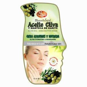 Mascarilla facial Aceite de Oliva y Manteca de Karit�