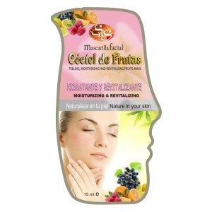 Mascarilla facial Cóctel de Frutas