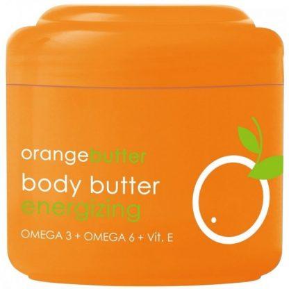 Naranja manteca corporal