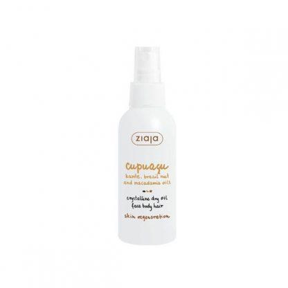 Cupuaçu Aceite seco cristalino para rostro, cuerpo y cabello