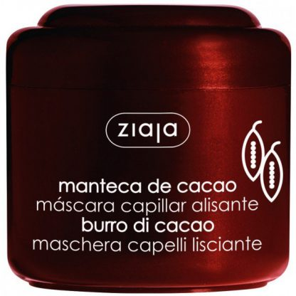 Cacao mascarilla capilar alisante