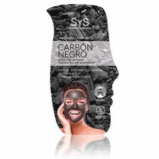 Mascarilla facial Carb�n negro peeling