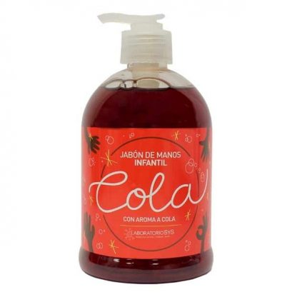 Jabón de manos Burbujitas de Cola 500ml.
