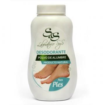 Alumbre Desodorante natural de pies
