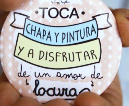 "Espejo ""Chapa y Pintura"""