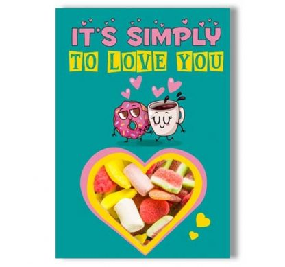 Tarjeta chuches - It�s simply, to love you