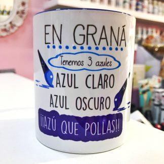 """Taza """"Azules Granainos"""""""
