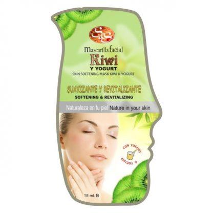 Mascarilla facial Kiwi y Yogurt