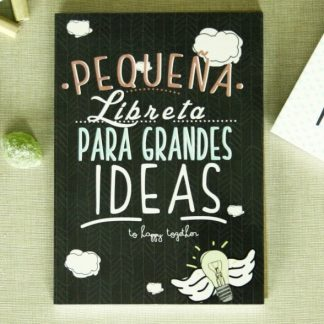"""Libreta """"Peque�a libreta para grandes ideas"""""""