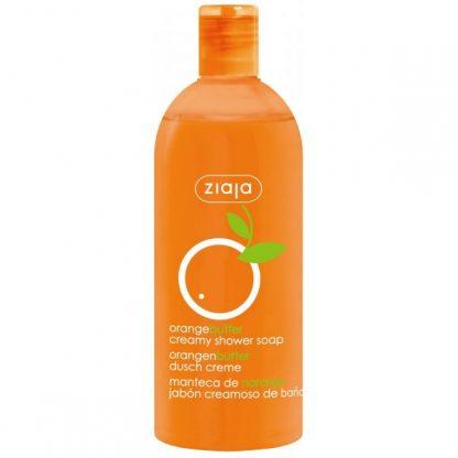 Naranja gel cremoso de ducha