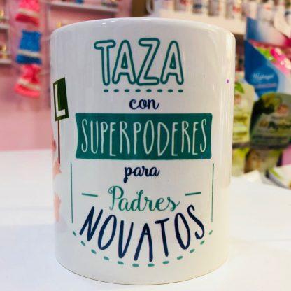 "Taza ""Padres novatos"""