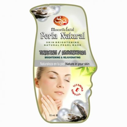Mascarilla facial Perla Natural Rejuvenenecedora