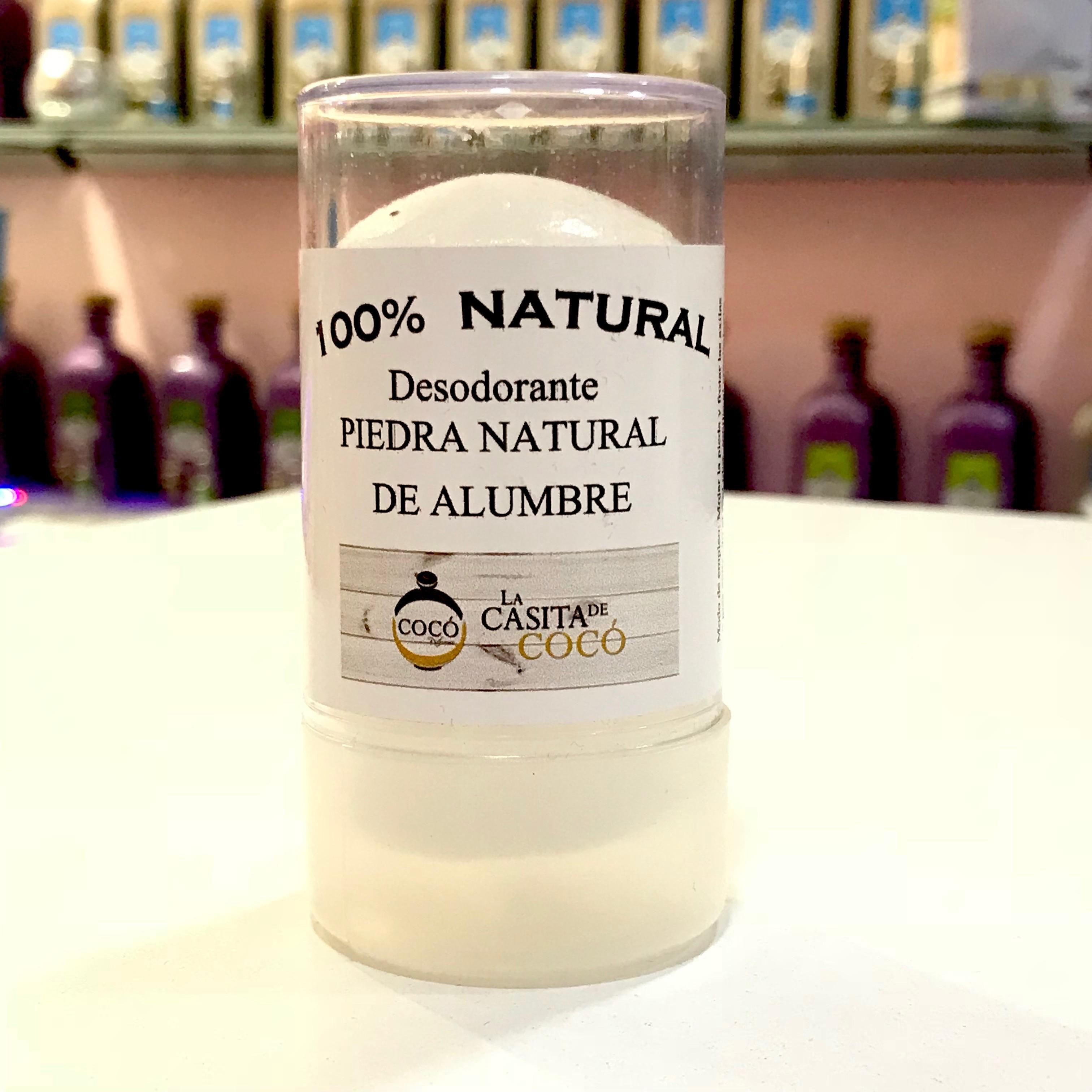 Piedra de Alumbre Desodorante natural