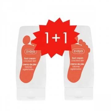 PROMO 1+1 Crema de pies para talones agrietados