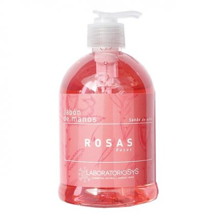 Jabón de manos Rosas 500ml.