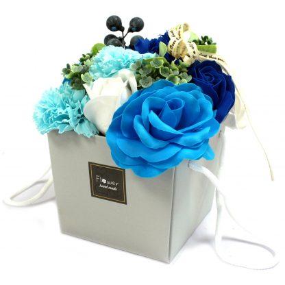 Ramo de flores de Jabón - Rosas azules