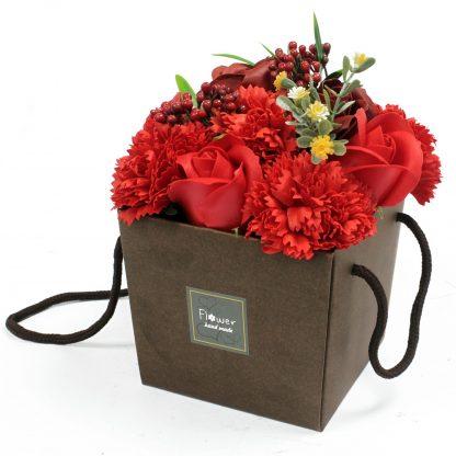 Ramo de flores de Jabón - Rosas rojas
