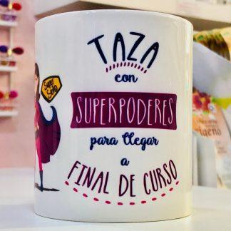 """Taza """"Se�o con super poderes"""""""