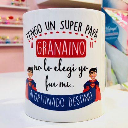 "Taza ""Super pap� grana�no"""